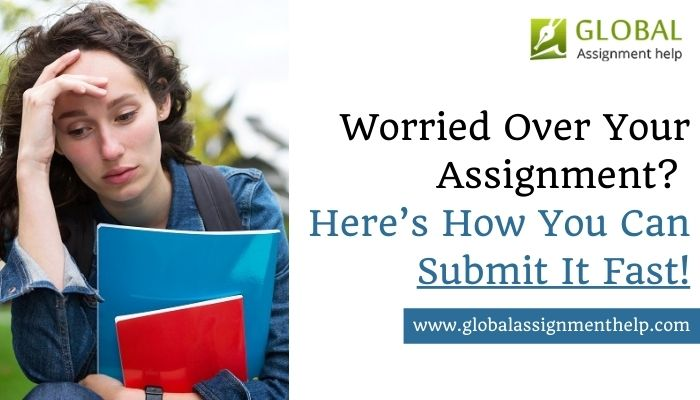 Worried Over Your Assignment? Here's How You Can Submit It Fast!